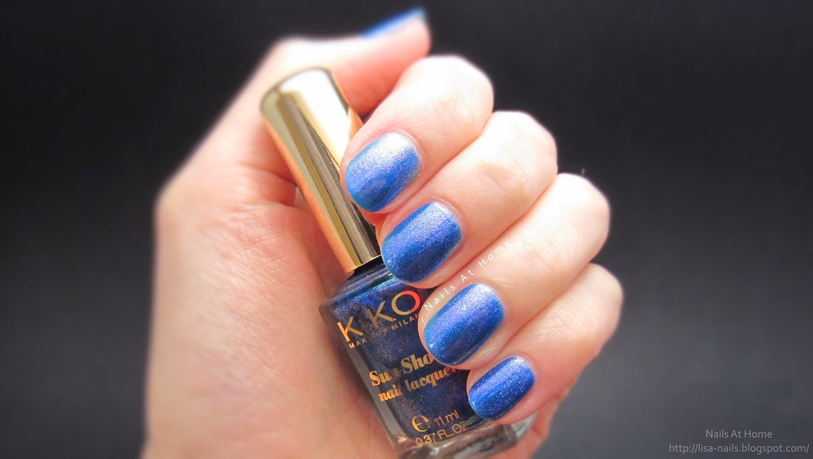 KIKO - Luxurious Indigo (+ possible dupe)