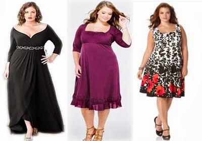 Tips Fashion Untuk Wanita Gemuk