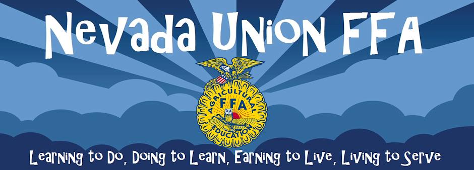 Nevada Union FFA