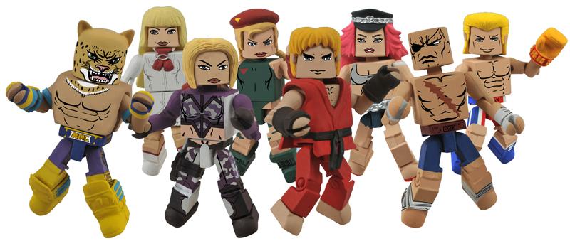 Street Fighter x Tekken Minimates Diamond Select