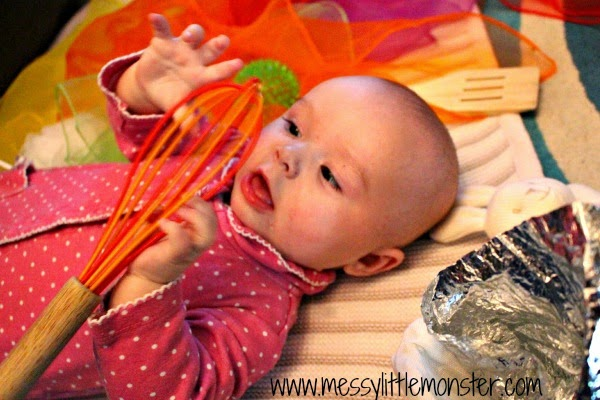 what to play with your baby - treasure basket