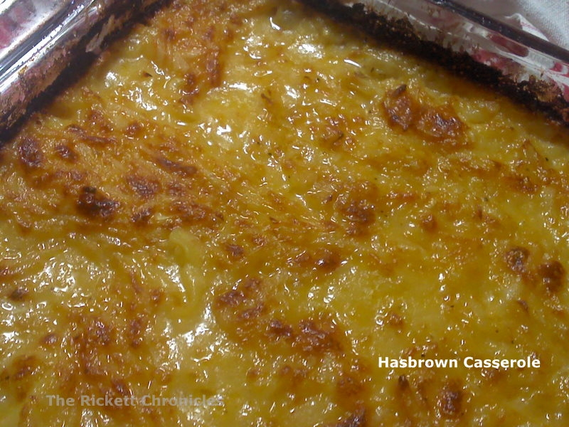 ... Chronicles: Recipe: Copy Cat {Cracker Barrel} Hashbrown Casserole