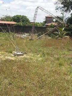 Antena de Rádio desaba matando um Técnico e deixando outro ferido em Pacajus