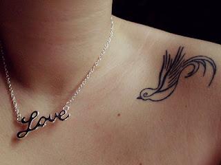 imagens de Tatuagem de Pássaro