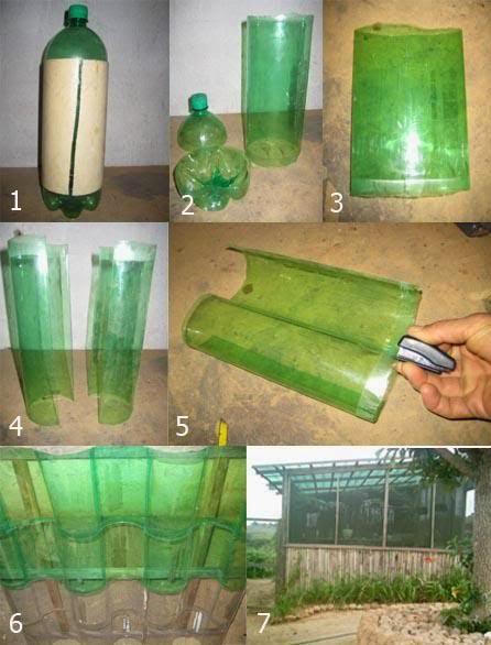 reciclando e criando com garrafa pet
