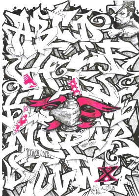 graffiti-alphabet-letters-arrow-design