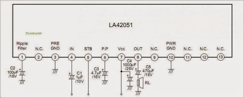 Audio power amplifier IC