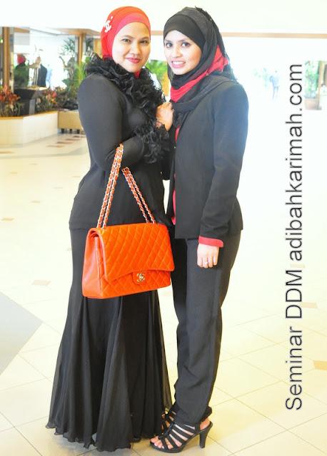 testimonial kejayaan adibah dlm perniagaan premium beautiful corset dlm seminar ddm di hotel awana genting from hai-o marketing sdn bhd