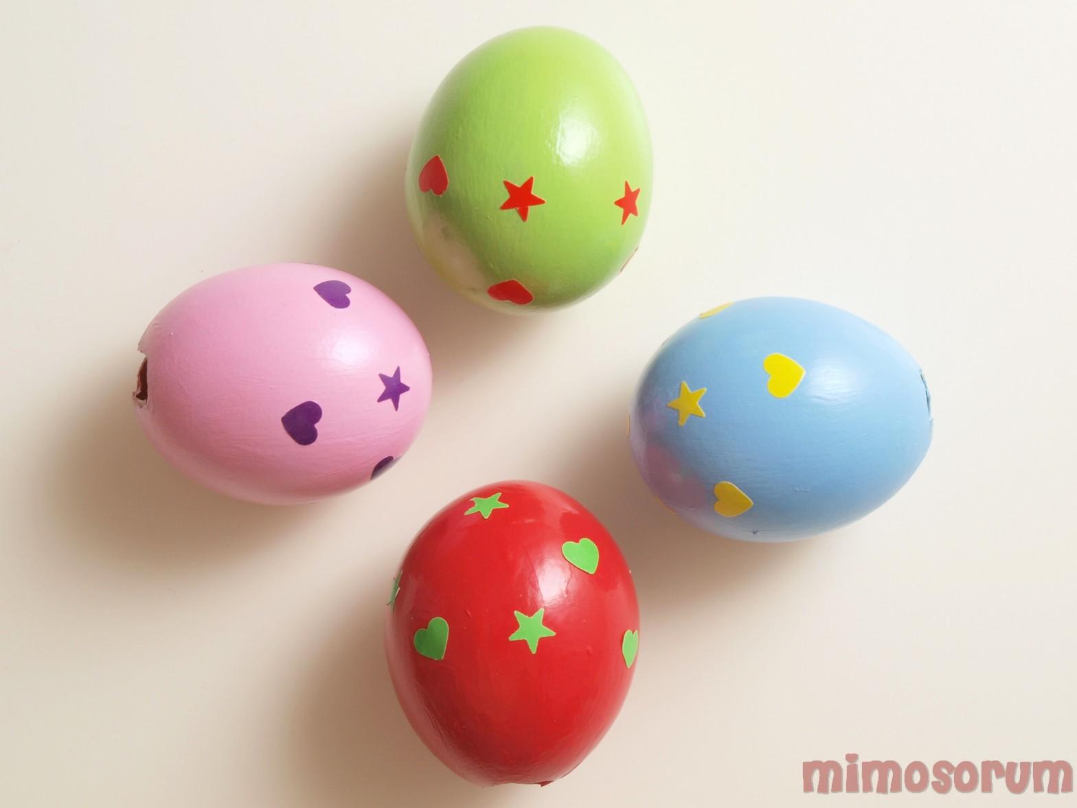 San Valentín.Mensajes en un huevo.Mimosorum