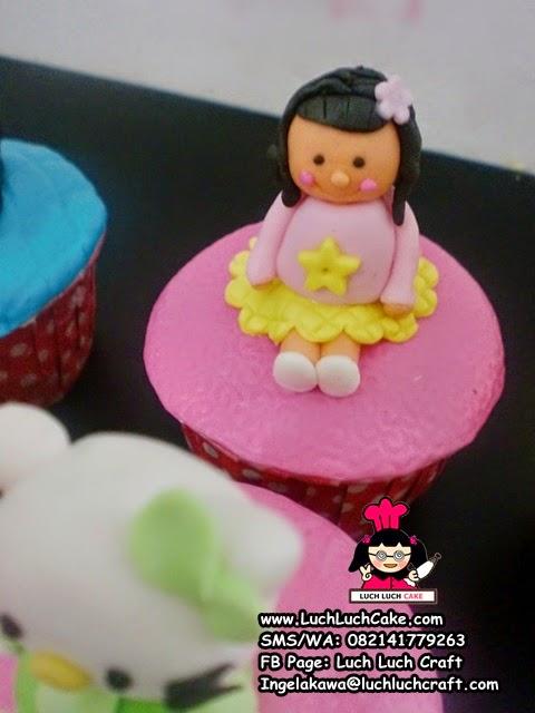 cupcake ulang tahun untuk anak kecil