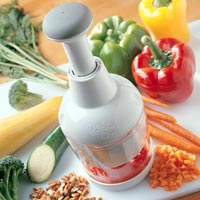 pampered chef manual food processor vs food chopper