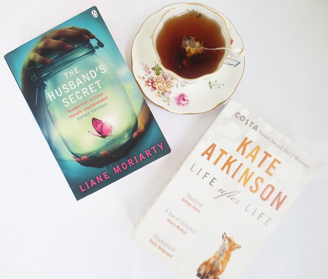 good reads, bluebird tea, the husband's secret, life after life