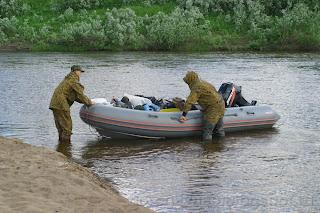 Иногда причаливание становиться проблематичным, река Шапкина