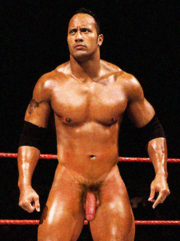 the rock dwayne johnson naked