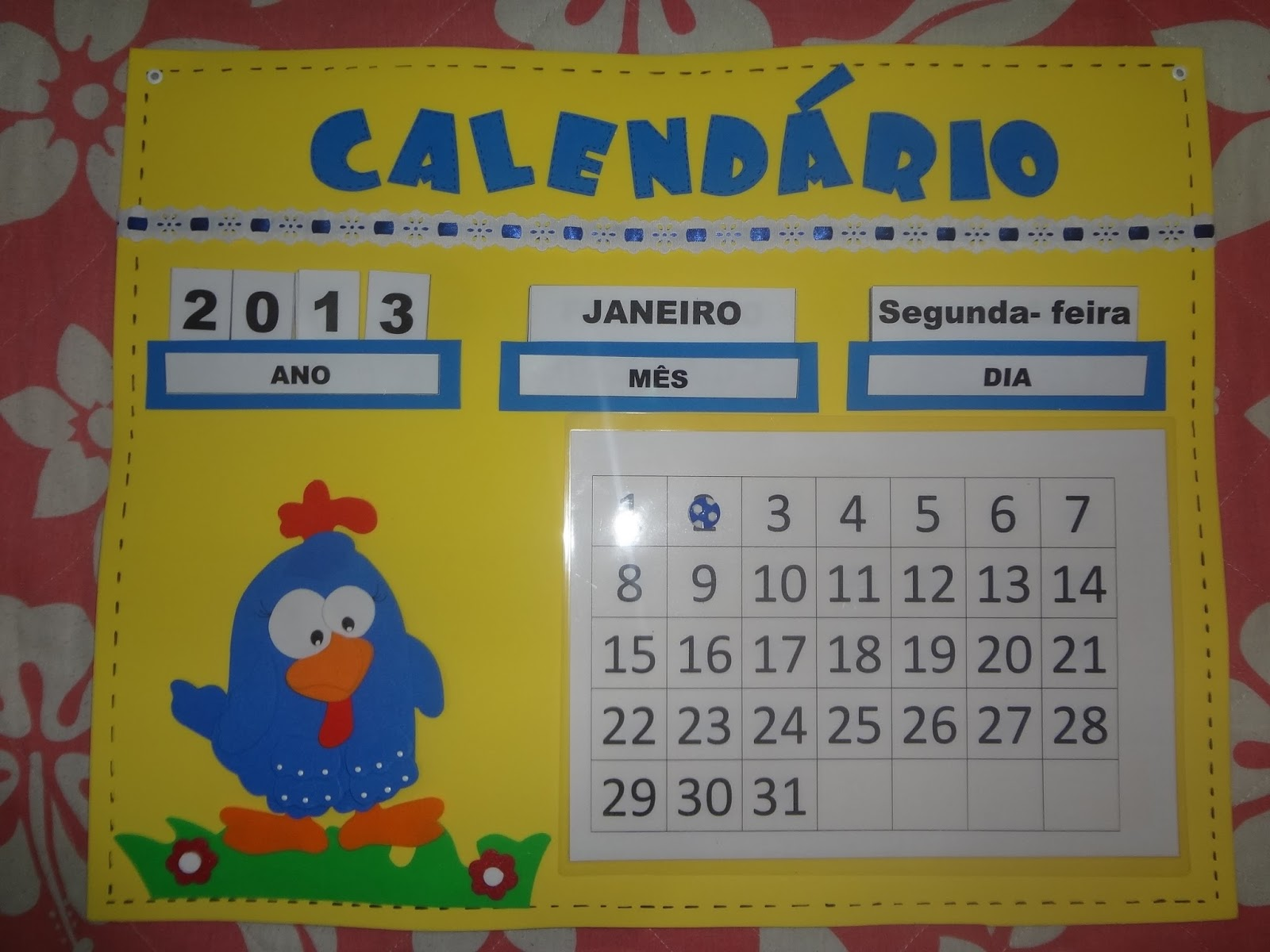 Extremamente Calendário da Galinha Pintadinha!! FI75