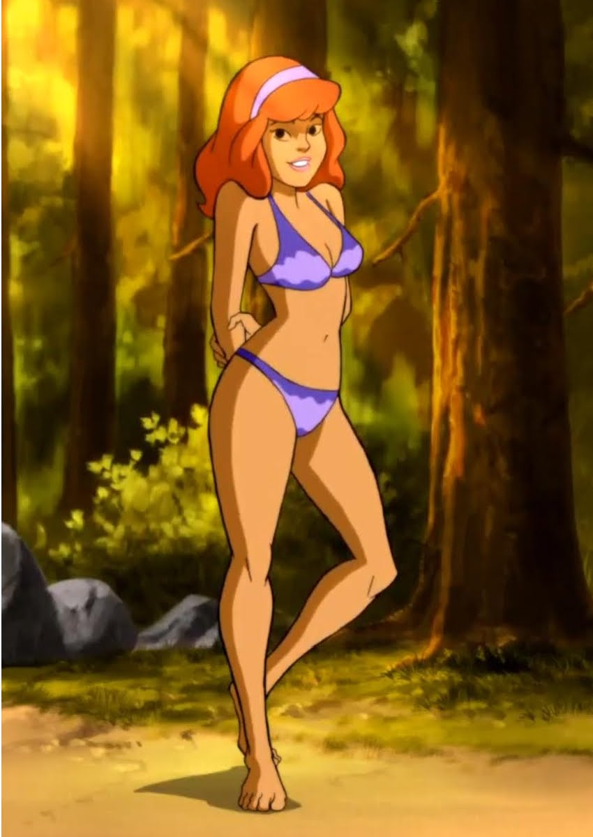daphne from scooby doo naked