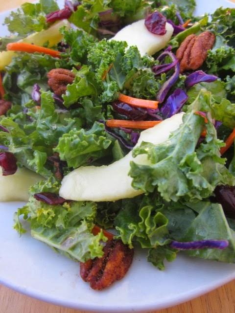 A Modern Lady Food Fashion and Flow Recipe kale strawberry salad.jpg