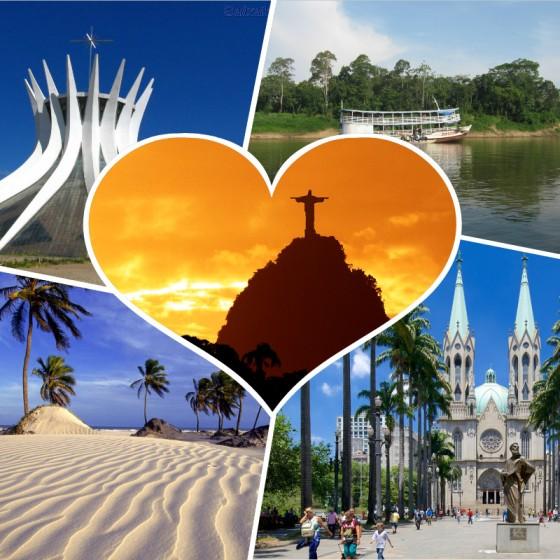 Que ver en Brasil - Ciudades que ver y visitar en Brasil