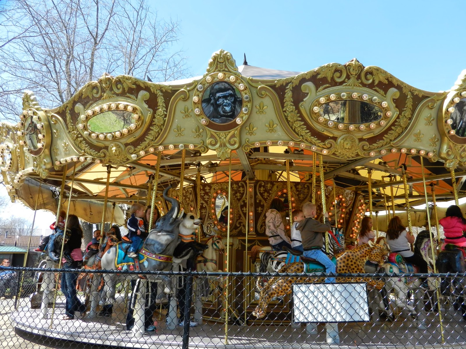 Niabi Zoo Quad Cities carousel