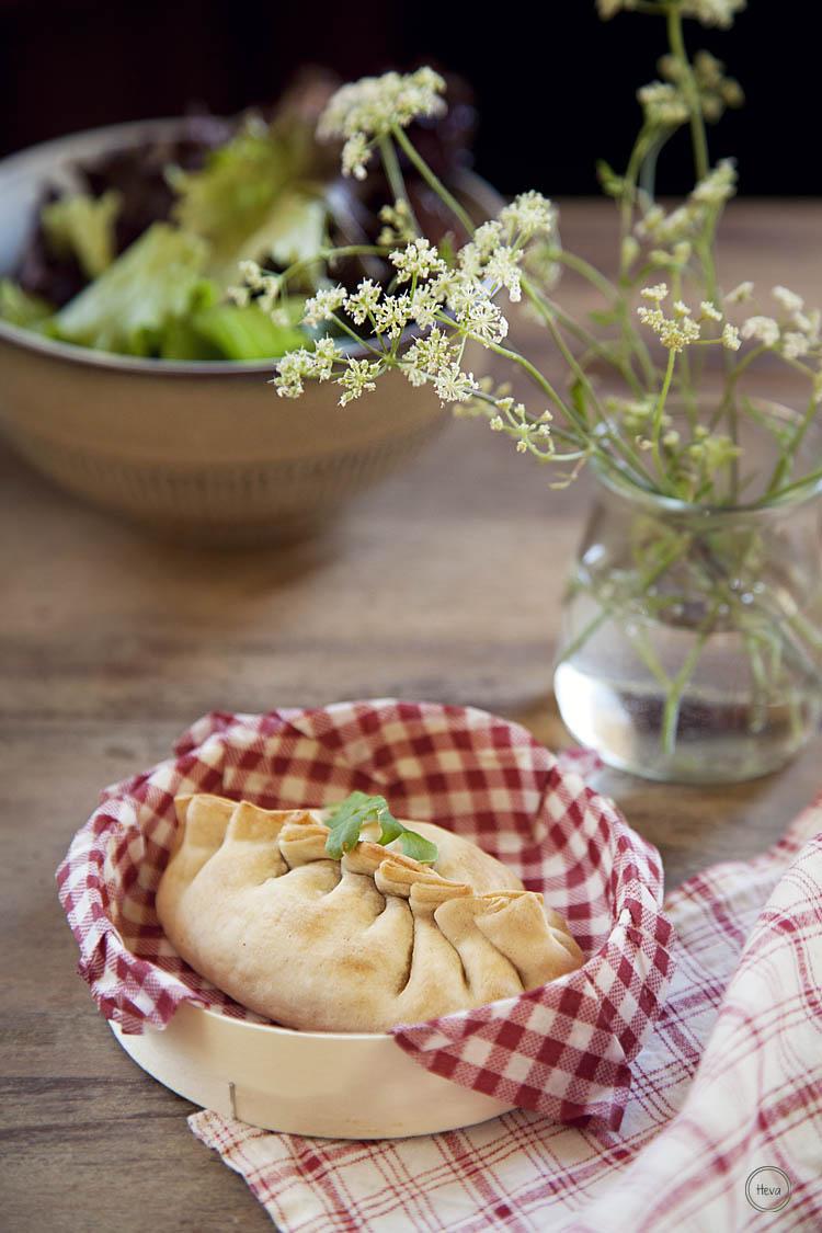 Empanadillas vegetales {lentejas}