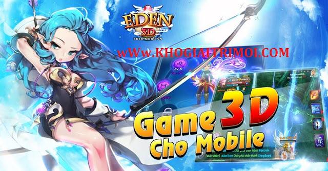 Sự kiện Ưu Đãi Nạp Tuần 3 Tháng 8 trong game Eden 3D