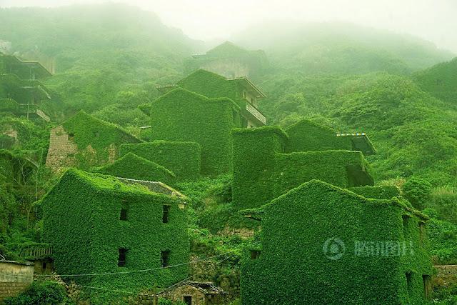 An Abandoned Fishing Village on Shengshan Island, China