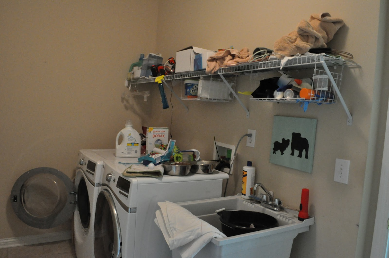 Laundry Room Before and After | Emily Ann Interiors