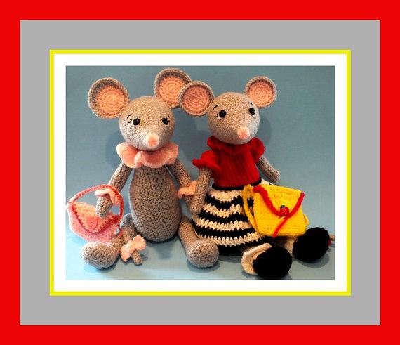 Little Miss Mindy Mouse Crochet Doll Pattern©