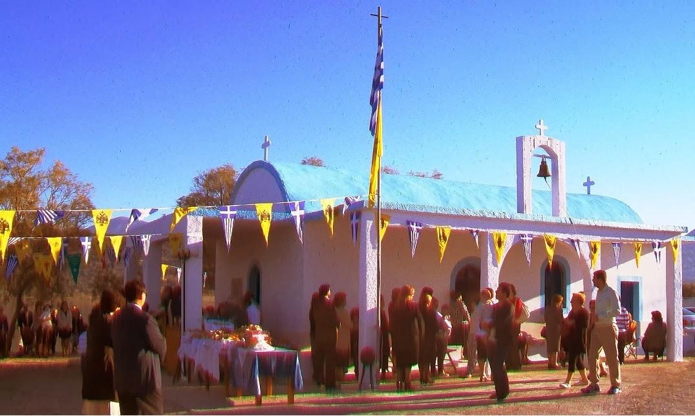 Με λαμπρότητα και Θεία κατάνυξη ο εορτασμός του Αϊ Δημήτρη στο ομώνυμο εξωκλήσι στην Κοιλάδα