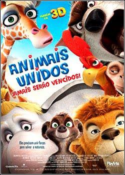 Filme Poster Animais Unidos Jamais Serão Vencidos R5 XviD & RMVB Dublado