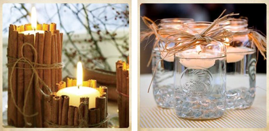 Levoiture diy decorar con velas for Velas para decorar mesas