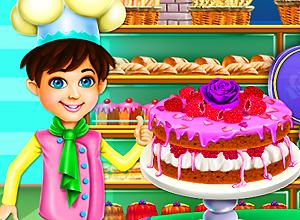Rosewater & Raspberry Sponge Cake