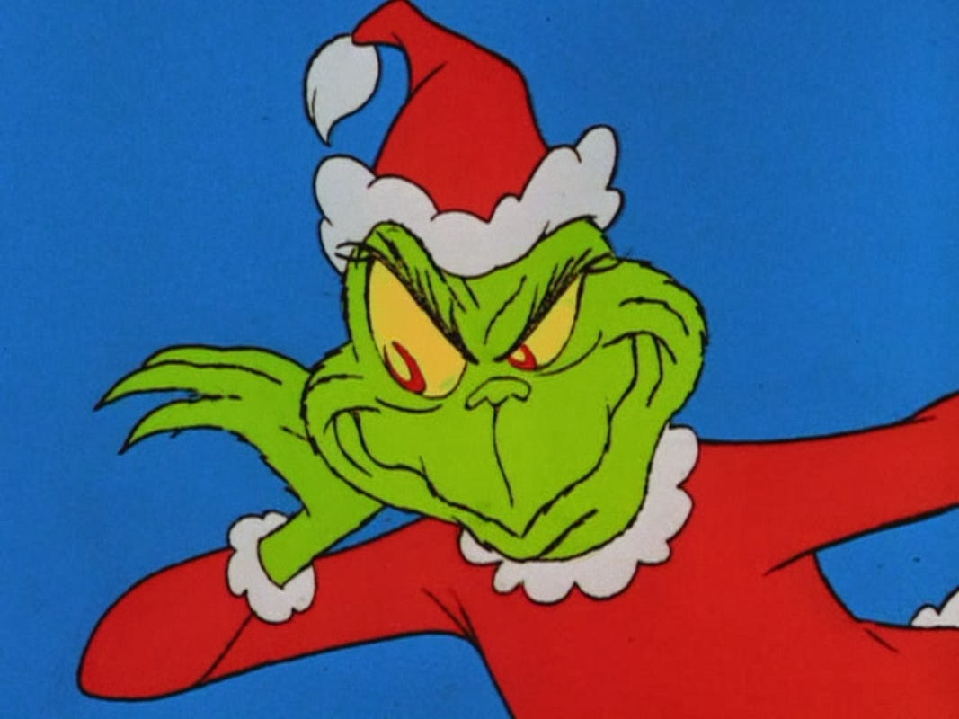 Baby Grinch Smiling Today, completely by accident,