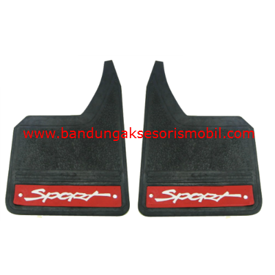 Mudguard Exclusive Sedan Sport Merah