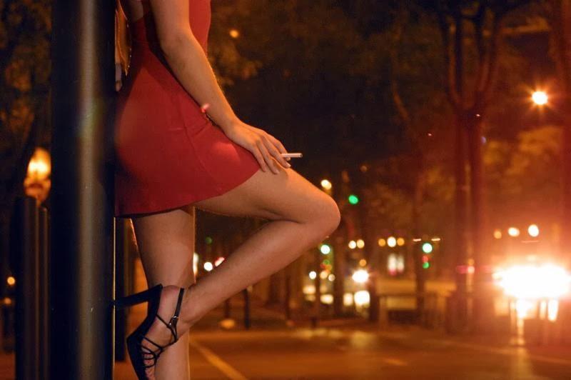 parler avec des prostituées