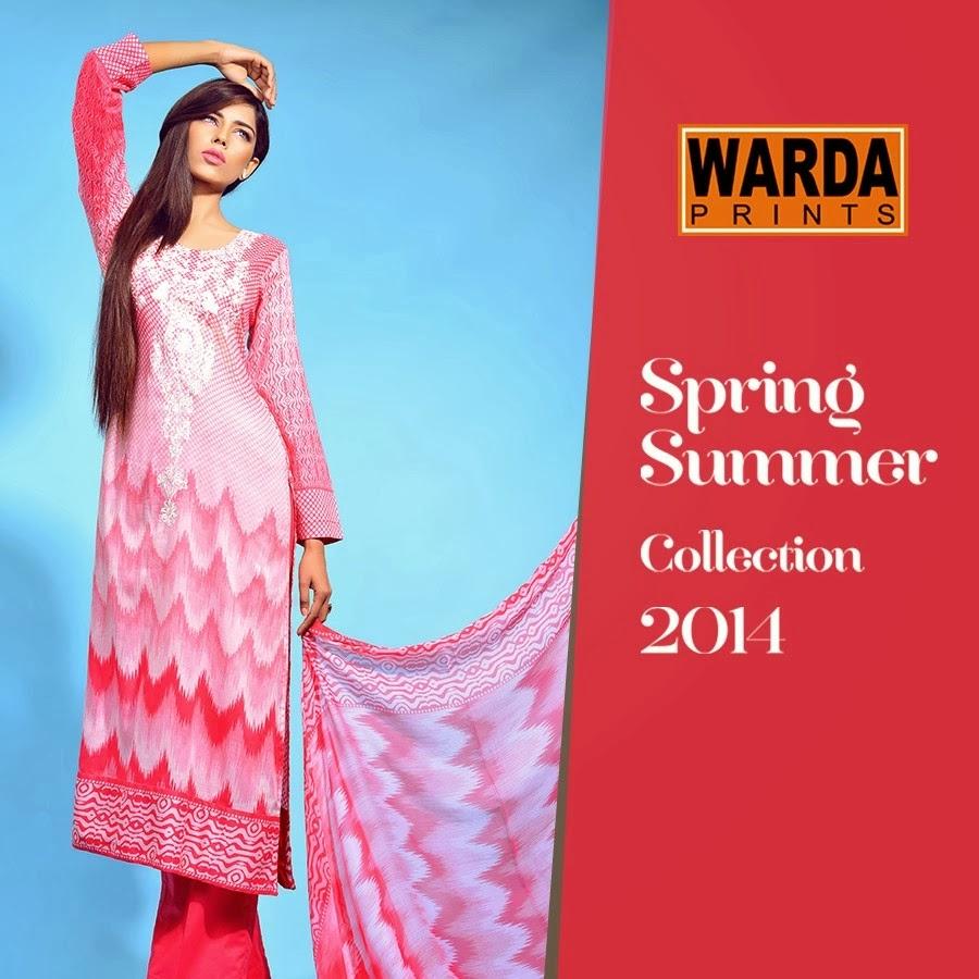 Warda Fashion Summer Lawn Designs