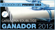 ESTE BLOG GANO EL 1ER. PREMIO UBA!!!!