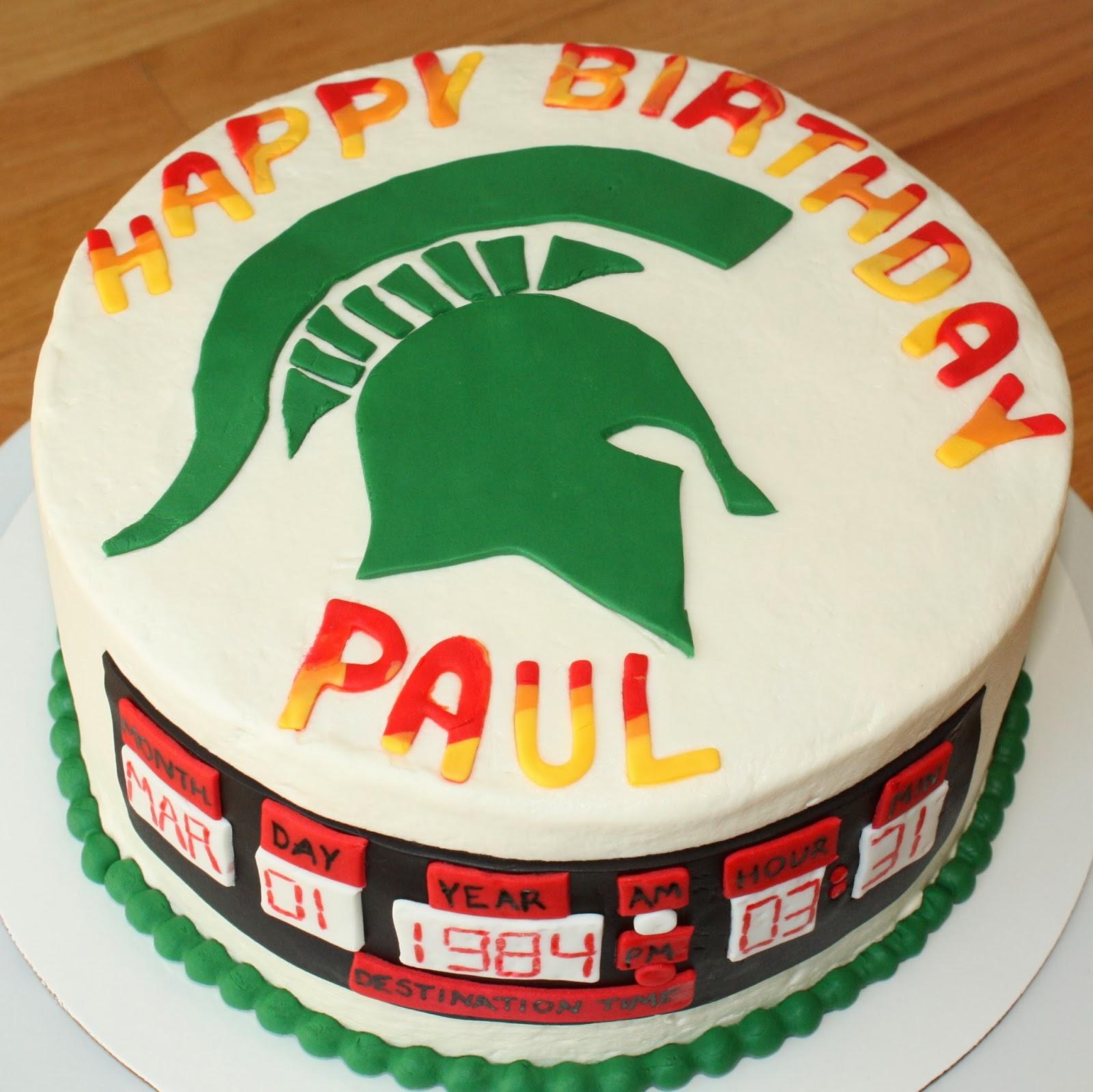 birthday cakes mi