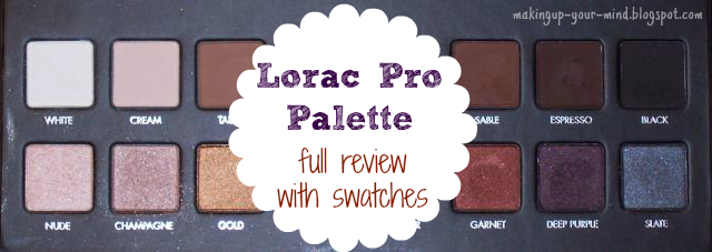 Lorac Pro Palette Review w/ Swatches!