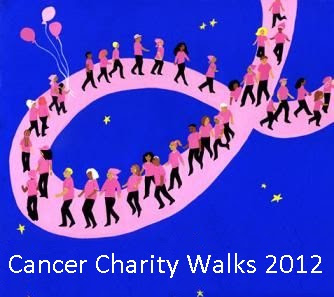 Cancer Charity Walks of 2012 across the World