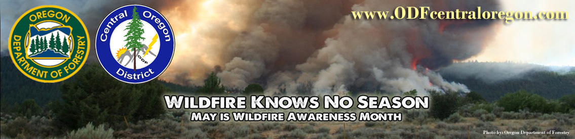 Oregon Department of Forestry - Central Oregon District Fire Information