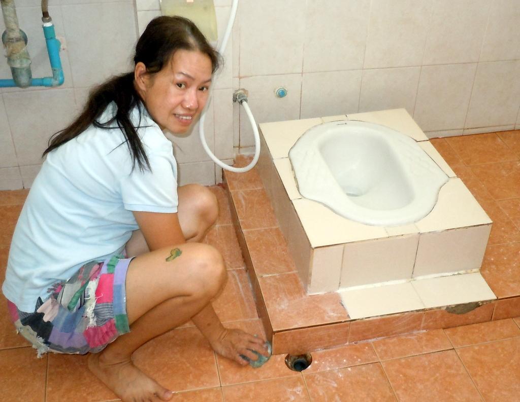 Terrys Stories Plumbers Bathroom Leaks - Bathroom floor leaking water