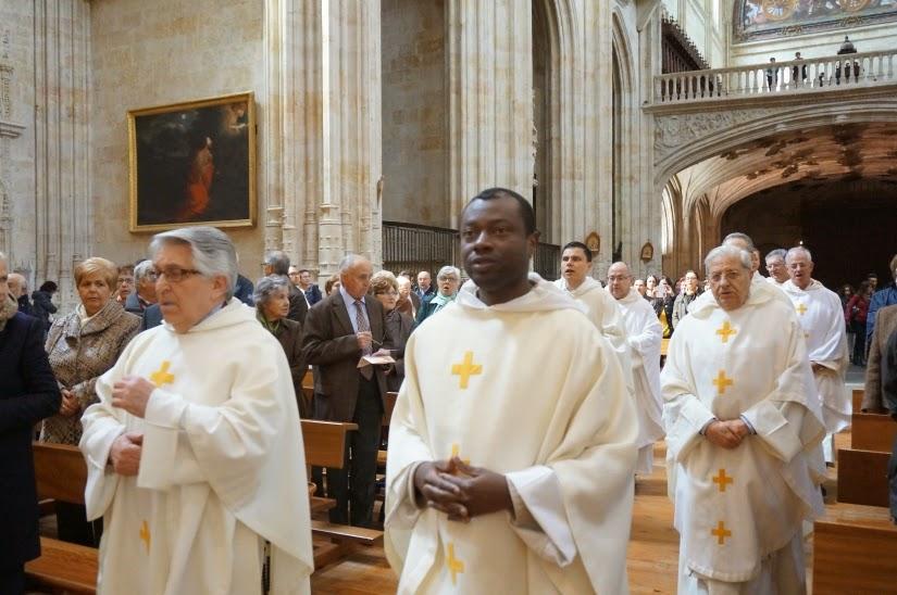 Fr. Gregorio Celada Luengo, nació en Curillas de la Sequeda (León, España), pertenece a la orden dominicana desde el año 1958, fue ordenado sacerdote en