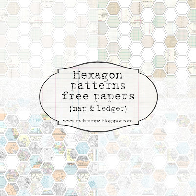 http://melstampz.blogspot.ca/2012/02/ledger-hexagon-paper-freebies.html