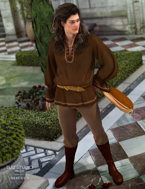 Troubadour for Genesis 2 Male
