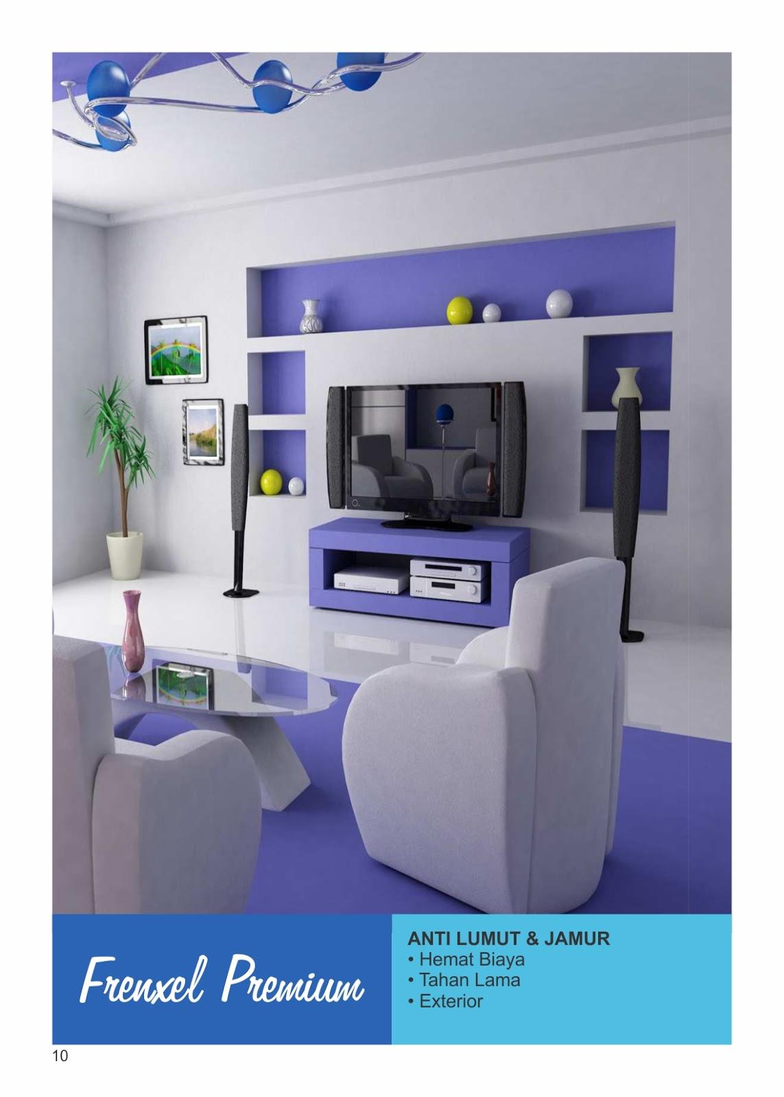 agen toko cat bekasi pilihan warna