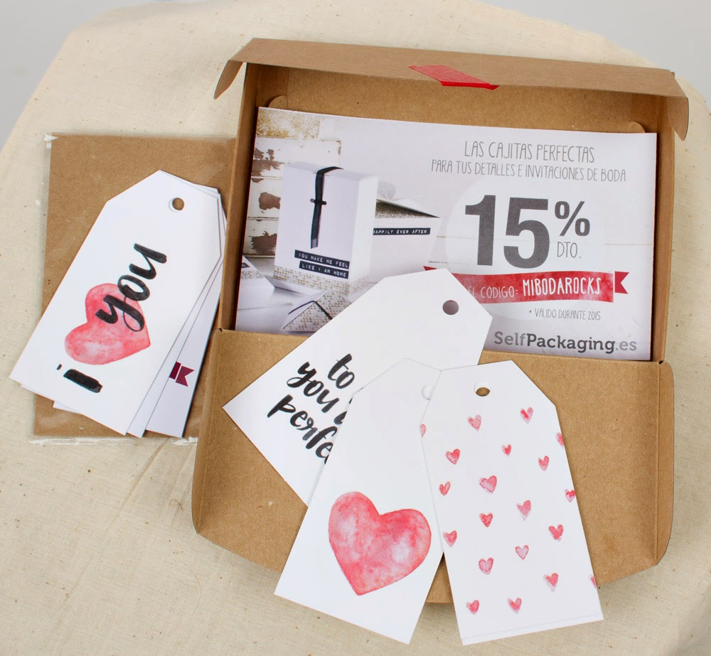 Selpackaging Wedding Box caja regalo original para novias Mi Boda Rocks