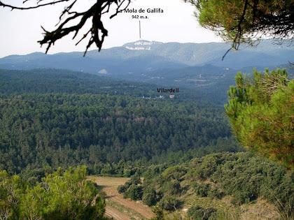 Panoràmica des del avituallament de Roca-Sitjana