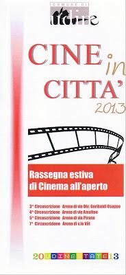 CINE IN CITTA 2013 A UDINE