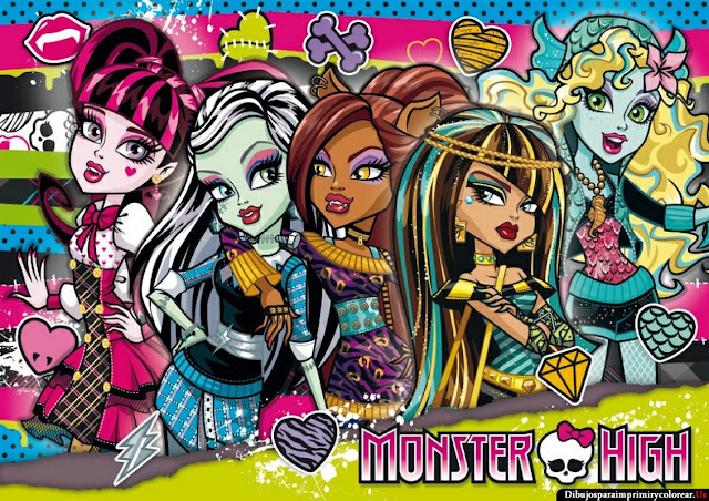 Fondos de Pantalla de Monster High